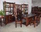 老船木茶桌椅组合仿古功夫茶几 客厅实木泡茶台中式茶艺桌