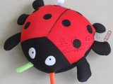 七星瓢虫清凉顺滑泡沫粒子纳米玩具公仔布偶玩偶幼儿礼物教学道具