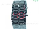 熔岩休闲电子手表 男士熔岩手表 金属熔岩手表