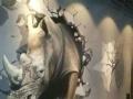 大学生创业、墙绘、墙体彩绘、涂鸦手绘墙、立体画壁画