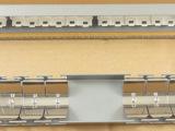 TCL24口六类配线架 空架PD2124 原装 千兆非屏蔽配线架