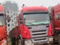 江西高安二手货车解放前四后八 9.6米平板车优价廉