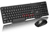 追光豹Q8电脑办公键鼠套装[P+U] 键盘鼠标 电脑配件批发