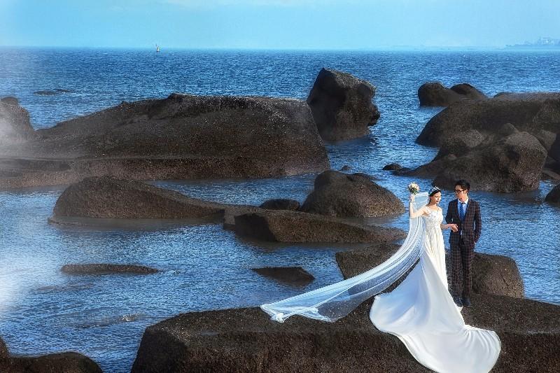重庆周边婚纱摄影结婚蜜月旅行婚纱照拍摄一对一服务无隐形消费