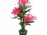 仿真植物盆栽绿植大型蝴蝶兰客厅摆设落地假花室内装饰塑料花假树