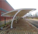 深圳膜结构车棚设计 膜结构停车棚制作 自行车棚安装一体服务