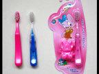 软毛儿童牙刷 带玩具宝宝牙刷 小头儿童牙刷批发 贴牌订做牙刷