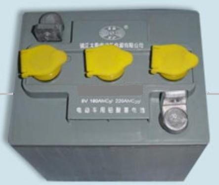 电动观光车 巡逻车 搬运车 环卫车 代步车蓄电池电瓶销售