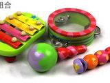 小额乐器组合 音乐玩具 敲琴响板 沙锤手铃鼓 奥尔夫乐器 早教