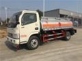 国五油罐车厂家直销 东风蓝牌加油车价格