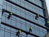 天津广告牌清洗,建筑外墙清洗,高空外檐清洗,玻璃幕墙清洗保洁