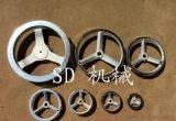 生产高品质耐用机床铸铁手轮 新款双翼镀铬手轮 价格实惠