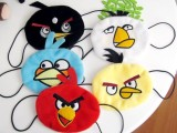 乖乖猫.较新款 韩版可爱愤怒的小鸟毛绒刺绣口罩 卡通口罩 5款