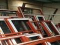 断桥铝门窗安装定制金刚网纱窗纱门平开改上悬不锈钢护