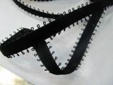 1.3CM加耳朵丝绒带