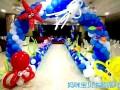 派对小丑 魔术 泡泡秀生日会气球布置策划