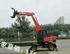 转让 挖掘机山鼎重工广东河源抓木机 厂家直销