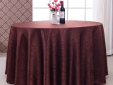 北京餐廳壓花臺布桌布口布加工定做