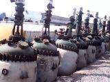 二手化工设备 二手2000L电加热搪瓷反应釜价格