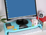 电脑显示器桌面增高托架键盘收纳架 桌面整