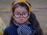 韩版儿童条纹围巾宝宝保暖手工毛线围巾阿拉