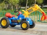 儿童挖掘机 大型可骑可坐挖机挖土机 推土机 玩具四轮工程车