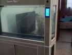 森森鱼缸,规格长150,宽50,底部自动过滤系统带