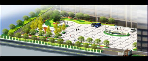 淄博园林效果图设计-海创园林景观工作室