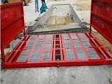 供应工地自动洗车机工程车洗轮机