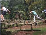 游乐设施厂家供应玻璃吊桥 悬索桥 木质吊桥