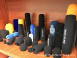 东莞玮立海绵制品公司专业生产各类麦克风海绵套,EVA包装盒