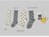 韩国婴儿袜宝宝中筒袜 星星满天图案宝宝袜 过膝儿童袜