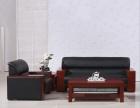 简约商务接待办公室沙发组合老板沙发经理会客沙发单人位三人