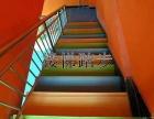 承接塑胶地板.PVC地胶.人造草坪工程.球场.楼梯踏步