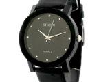 正品品牌时诺比 批发 皮带手表进口面芯 防水手表 情侣手表