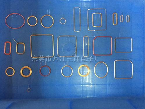 三连电子厂专业供应异形卡线圈——台州异形卡线圈