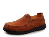 厂家直销真皮男皮鞋 精品男士商务休闲鞋 单鞋 一件代发 批发