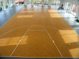 四平篮球场地运动木地板 悬浮式安装