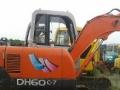 二手斗山DH60-7挖机试挖、精品小型挖机供应