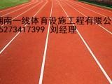 湘潭韶山市塑胶跑道厂家施工费用湖南一线体育设施工程有限公司