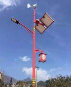 湖北农村6米锂电池太阳能路灯厂
