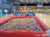 广州充气儿童攀岩定做广东充气大型玩具充气水上闯关玩具