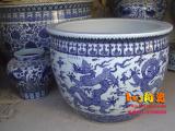 景德镇陶瓷鱼缸-鱼缸厂商
