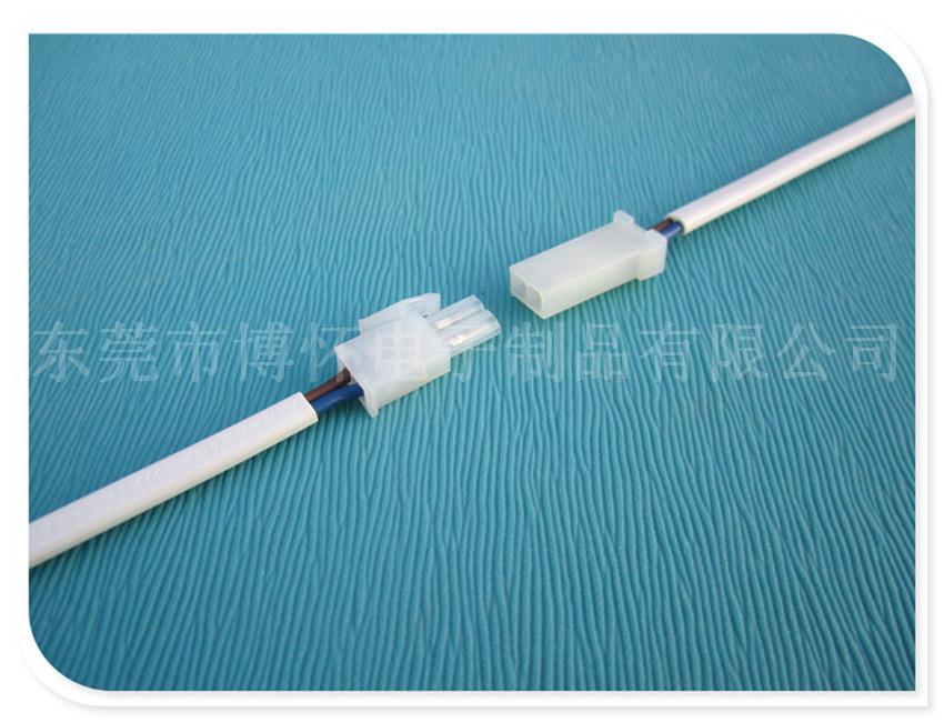 产品参数: 电线:2x0.75mm护套线(可按客户要求做) 连接器颜色:白色/黑色 线长(MM):可按客户要求订做     产品优点: 1. 产品尺寸超小,适应电压12-24V。 2. 有防插反的防呆结构,安装方便快捷。 用途: 用途:适用于欧洲室内各种LED ceiling light,LED Downlight ,LED橱柜灯,LED射灯,LED装饰灯,3528单色软灯条,硬灯条等产品连接领域。 包装: 符合出口标准(可按购方要求包装)     我司专业生产LED分线盒、led接