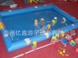 充气水池,儿童冲气玩具,充气摸鱼池