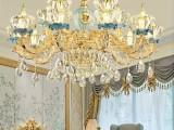 装饰吊灯 法式水晶吊灯 陶瓷吊灯