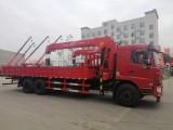 东风F5后八轮可选装10吨至14吨吊机