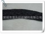 灰色交叉平绳带 服装绳带 棉织带 环保棉织带