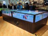 醴陵株洲海鮮池訂做  就選海鯊水族工廠
