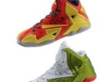 2014新款LBJ 11代篮球鞋冠军版战